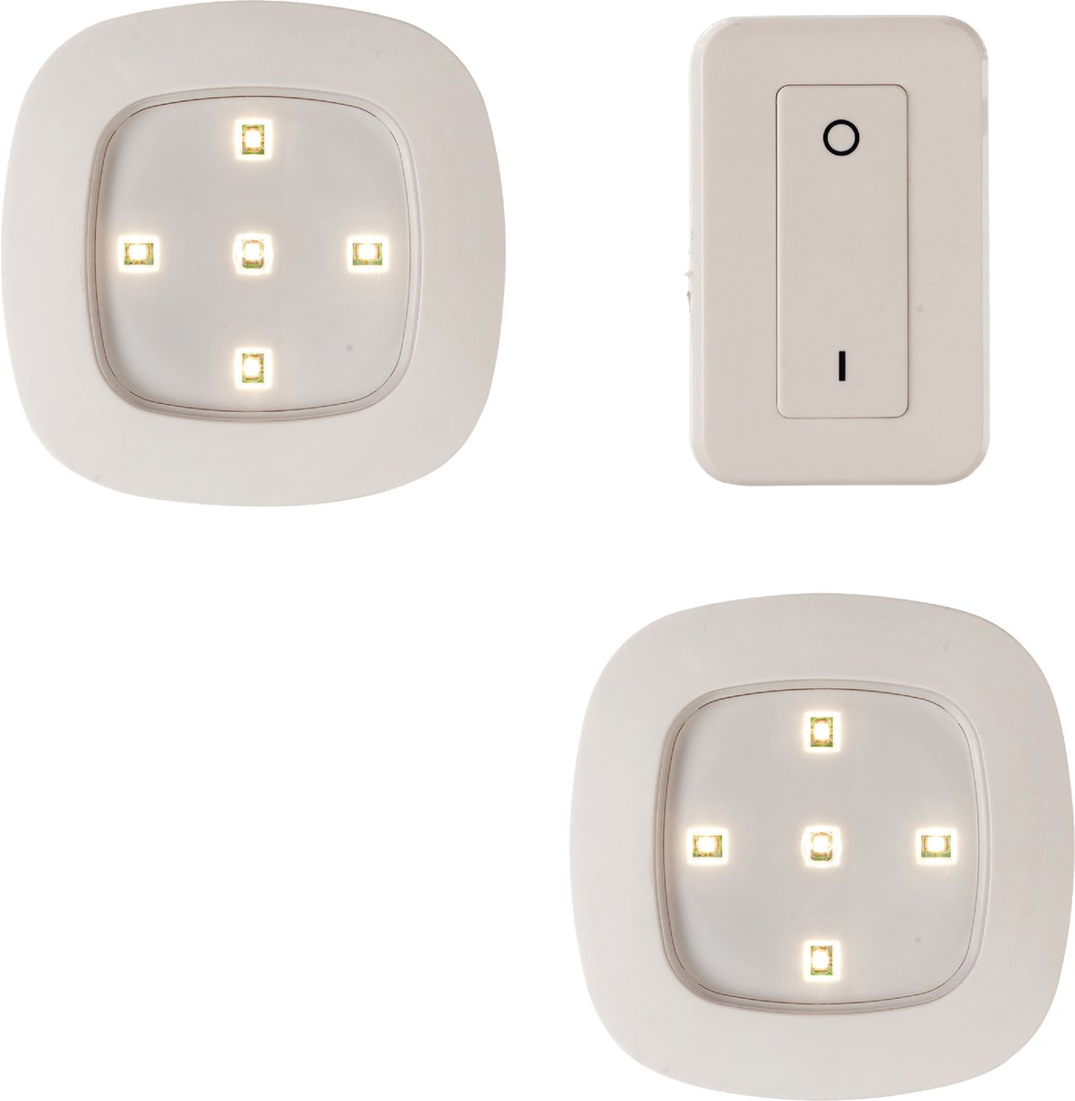 Buy Light It Led Remote Control Battery Operated Ceiling Light Set White