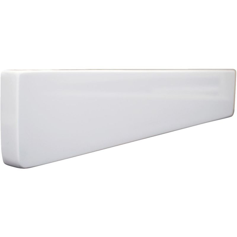 Modular Vanity Tops Universal Side Splash Solid White, Universal