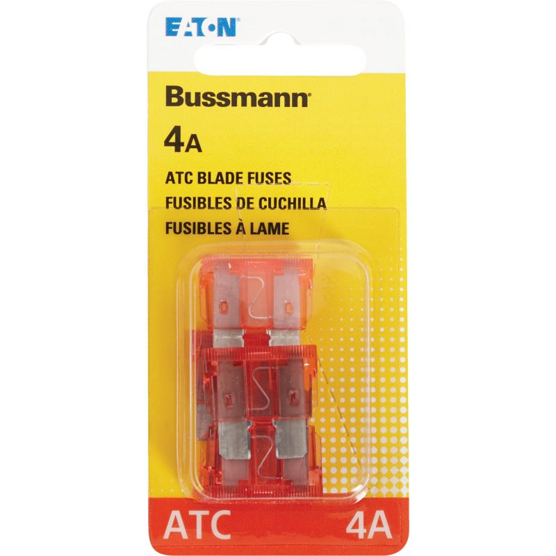 Bussmann ATC Blade Automotive Fuse Pink, 4A