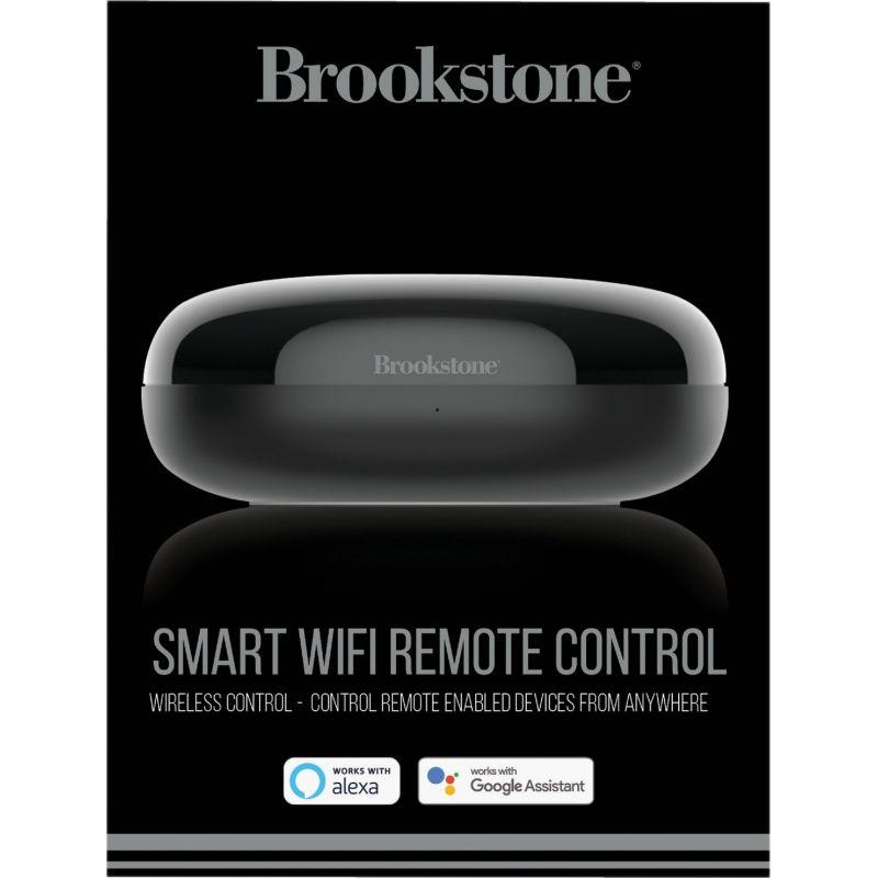 Brookstone Smart Wi-Fi Remote Control Black