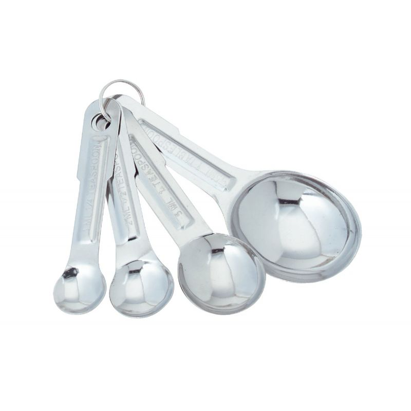 Norpro Measuring Spoon Set Stainless Steel