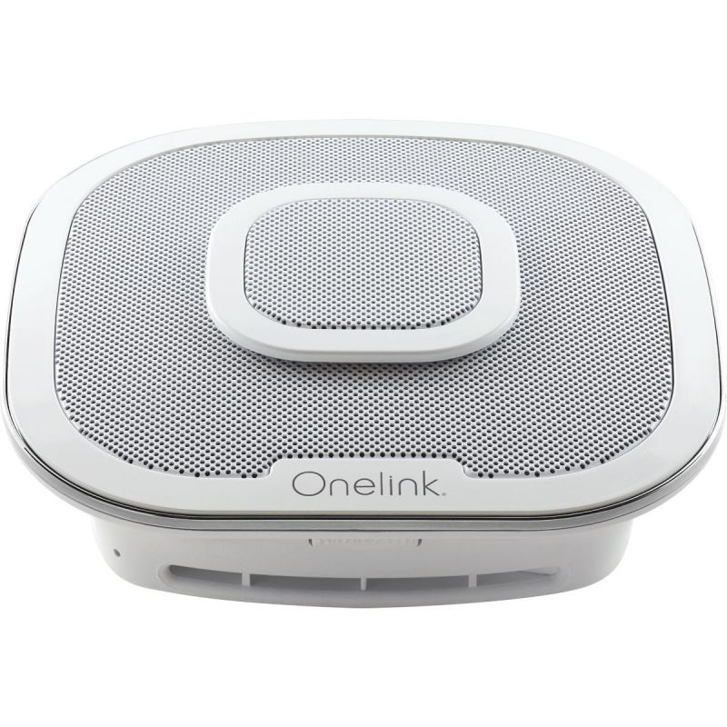 First Alert Onelink Safe & Sound Smart Carbon Monoxide/Smoke Alarm With Alexa White