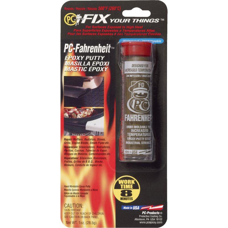 PC-Fahrenheit Epoxy Putty 1 Oz., Brown