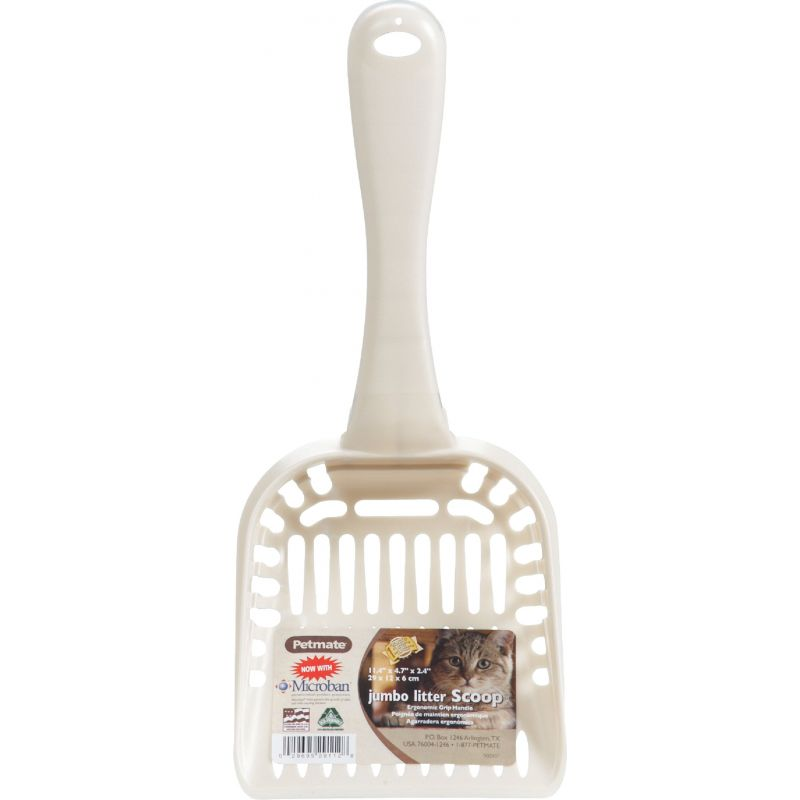 Petmate Litter Box Scoop Jumbo, Speckled Dove