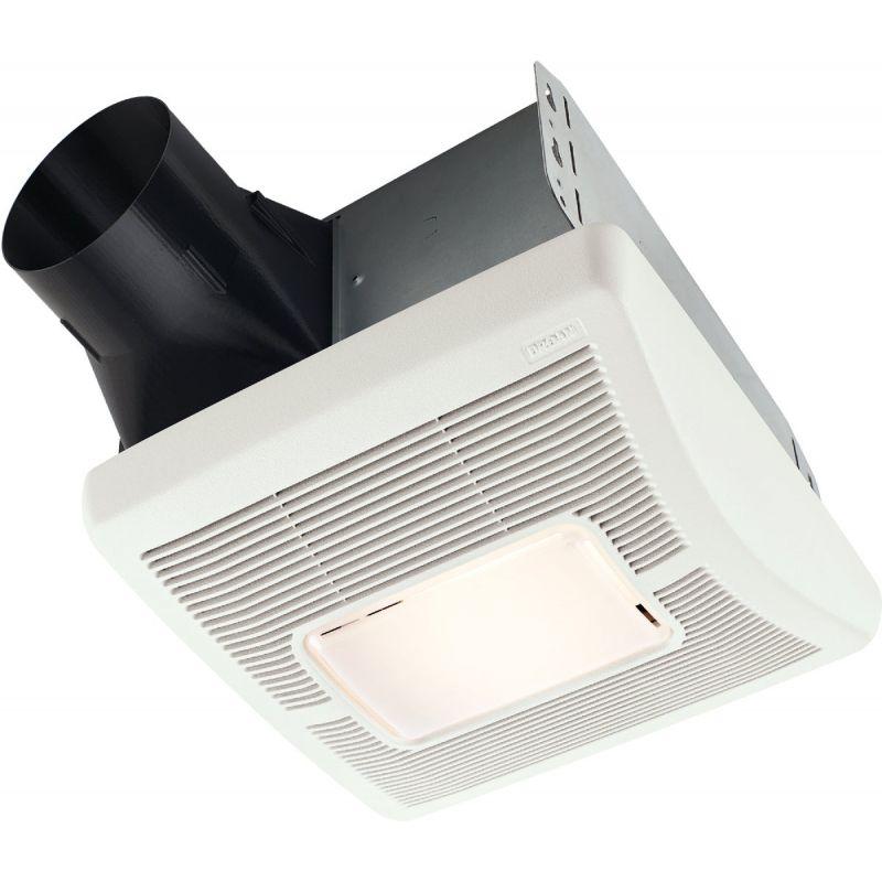 Broan 110 CFM Bath Exhaust Fan With Light White