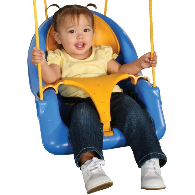 Swing N Slide Comfy-N-Secure Swing Blue/Yellow
