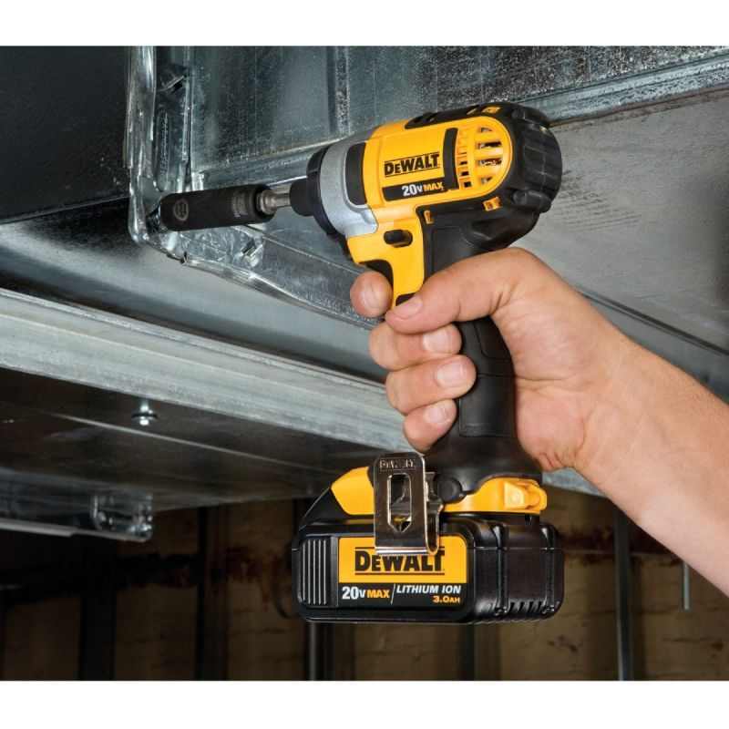 DeWalt 20V MAX Lithium-Ion Cordless Impact Driver Kit 1/4 In. Hex