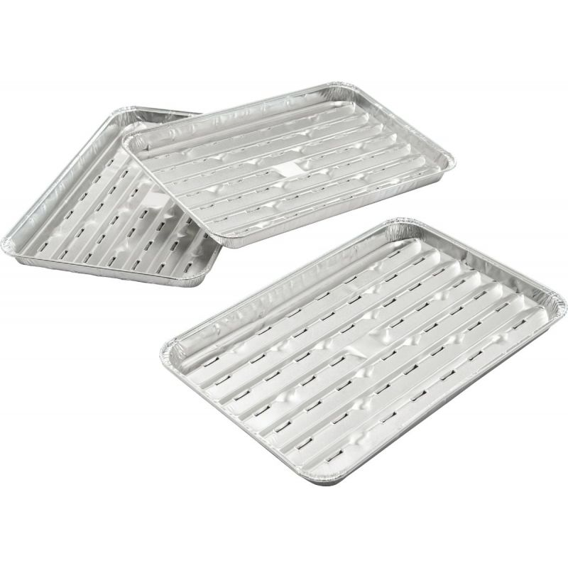 GrillPro Aluminum Grill Topper Tray