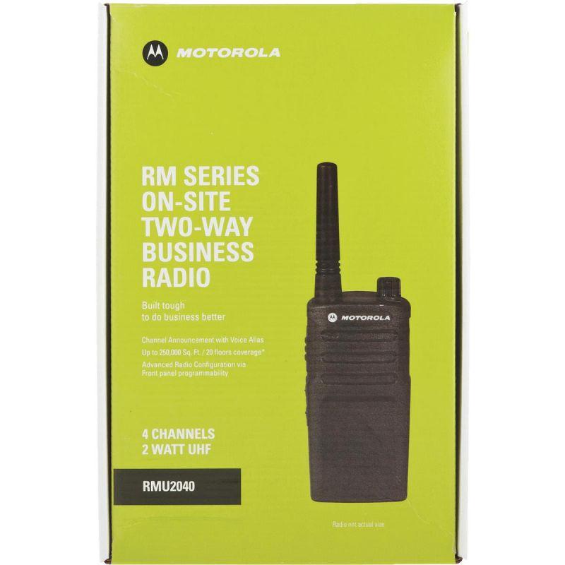 Motorola 2 Watt UHF Business 2-Way Radio Black