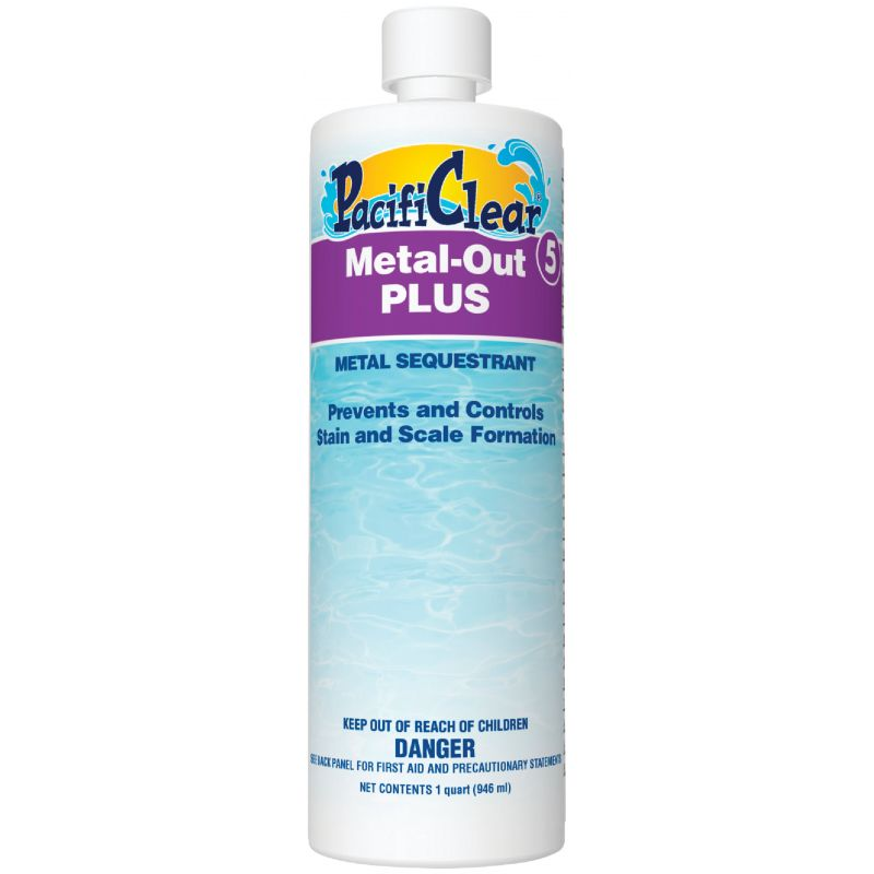 PacifiClear Metal-Out Plus Metal Control 1 Qt. (Pack of 12)