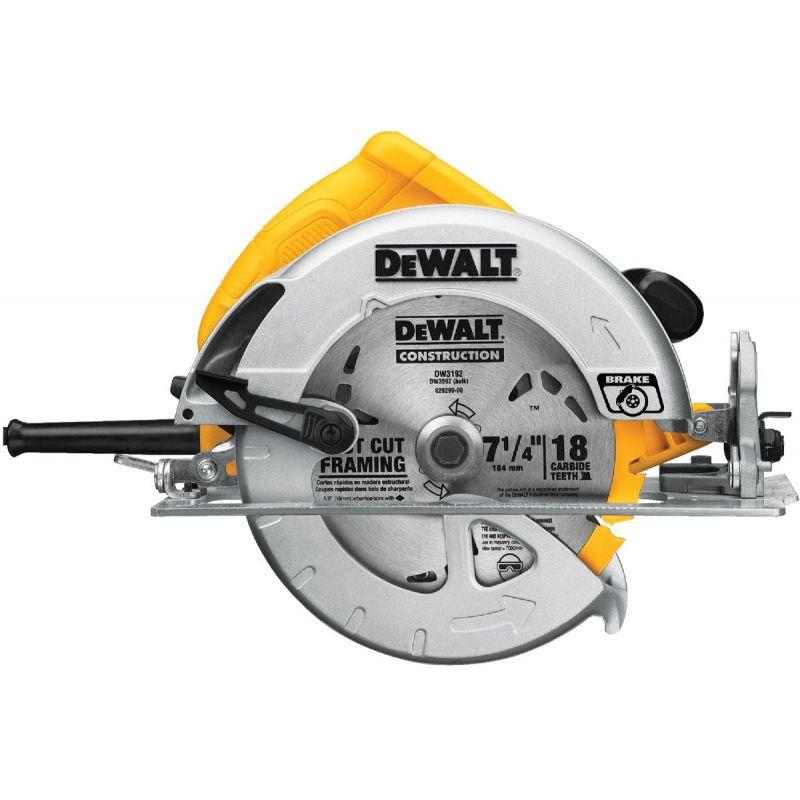 DeWalt 7-1/4 In. Lightweight Circular Saw 15A