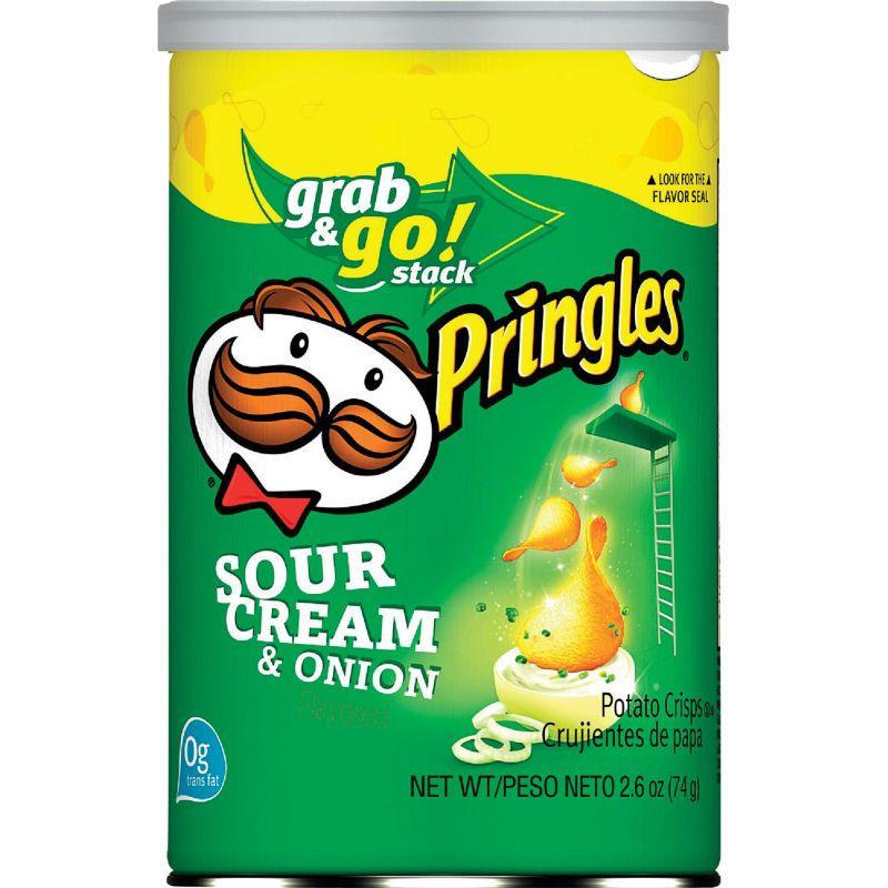 Pringles 2.5 oz Grab & Go Potato Chips 2.50 Oz. (Pack of 12)