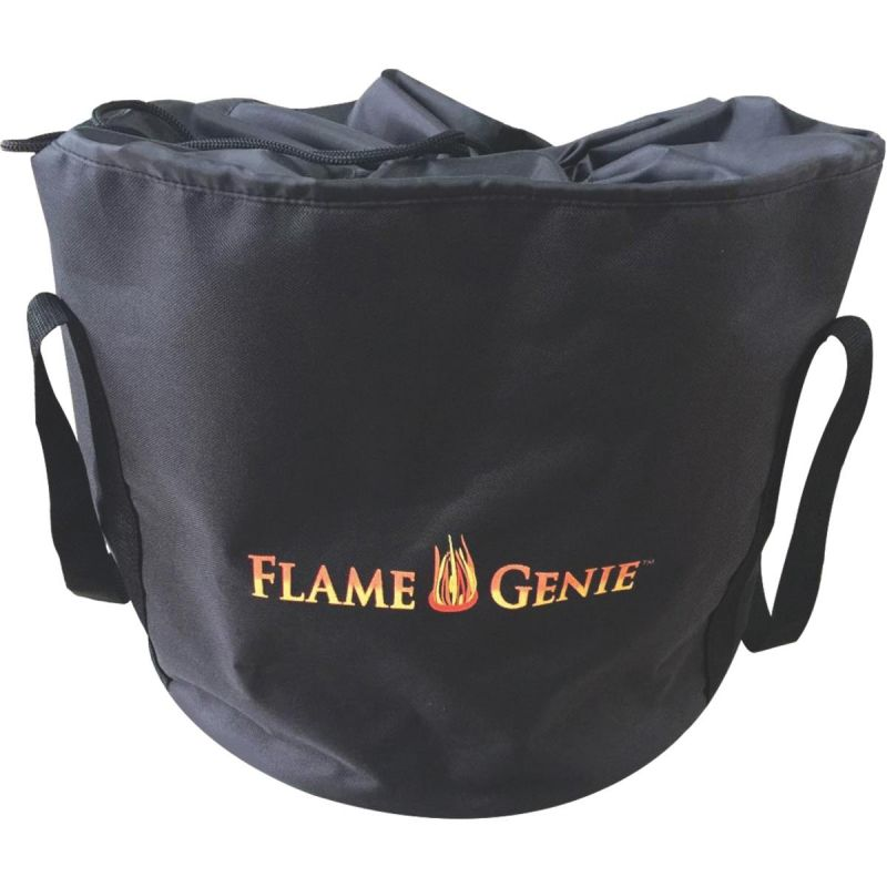 Flame Genie Fire Pit Cover Black