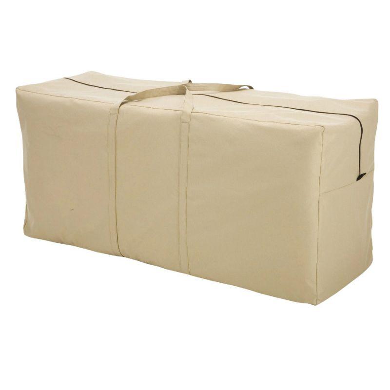 Classic Accessories Terrazzo Patio Cushion & Cover Storage Bag Tan