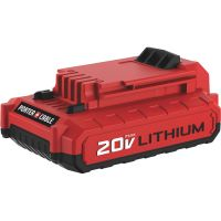 Porter Cable 20V MAX Lithium-Ion Tool Battery