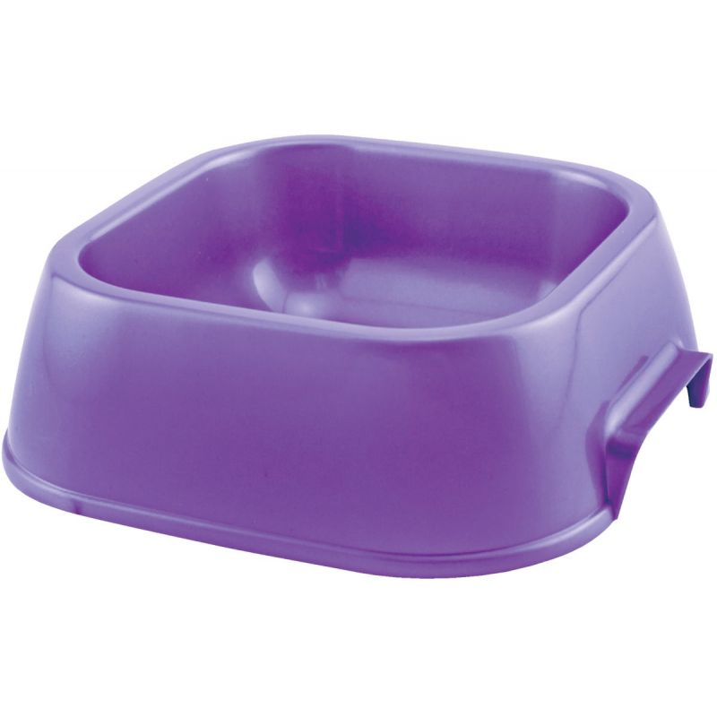 Westminster Pet Ruffin' it Plastic Pet Food Bowl Small, Assorted