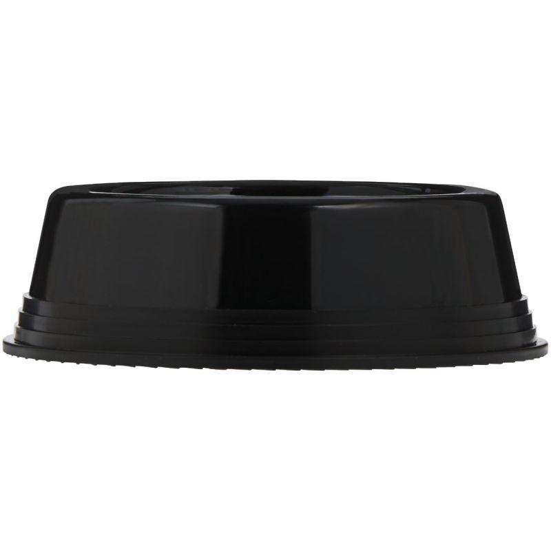 JW Pet Skid Stop Pet Food Bowl Medium, Mouse Gray, Breeze & Black