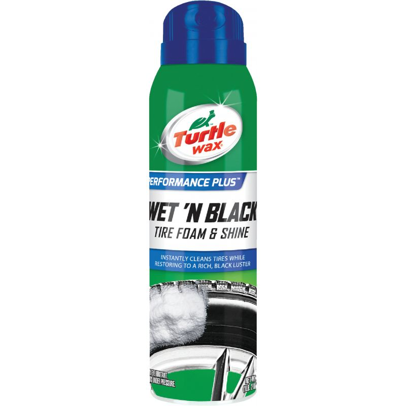 Turtle Wax Wet 'N Black Tire Shine 18 Oz.