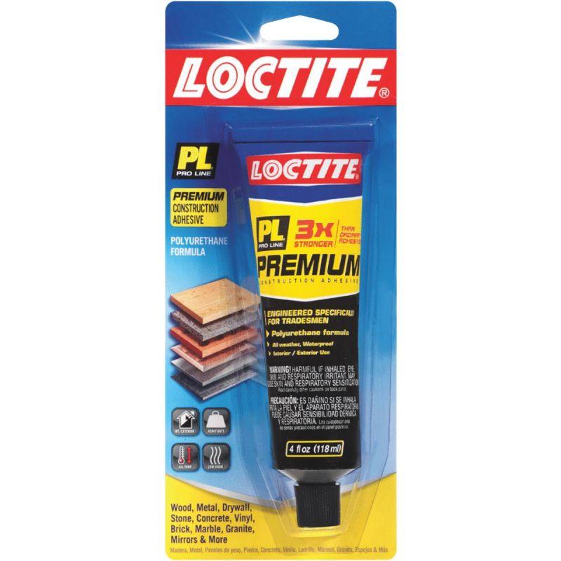 LOCTITE PL Premium Polyurethane Construction Adhesive 4 Oz., Tan