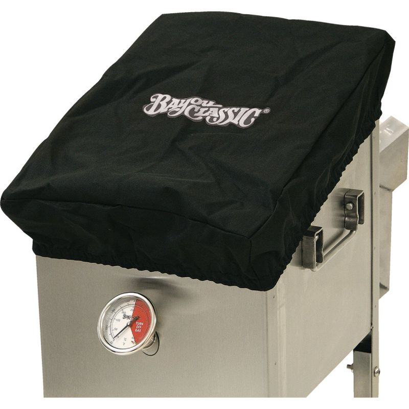 Bayou Classic Canvas Fryer Cover Black