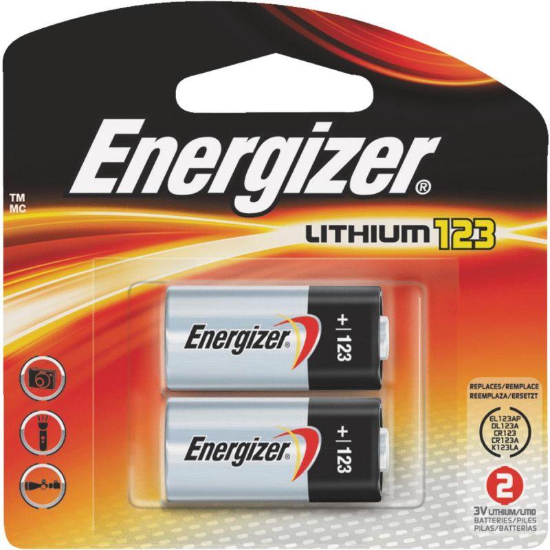 Energizer 123 Lithium Camera Battery 1500 MAh