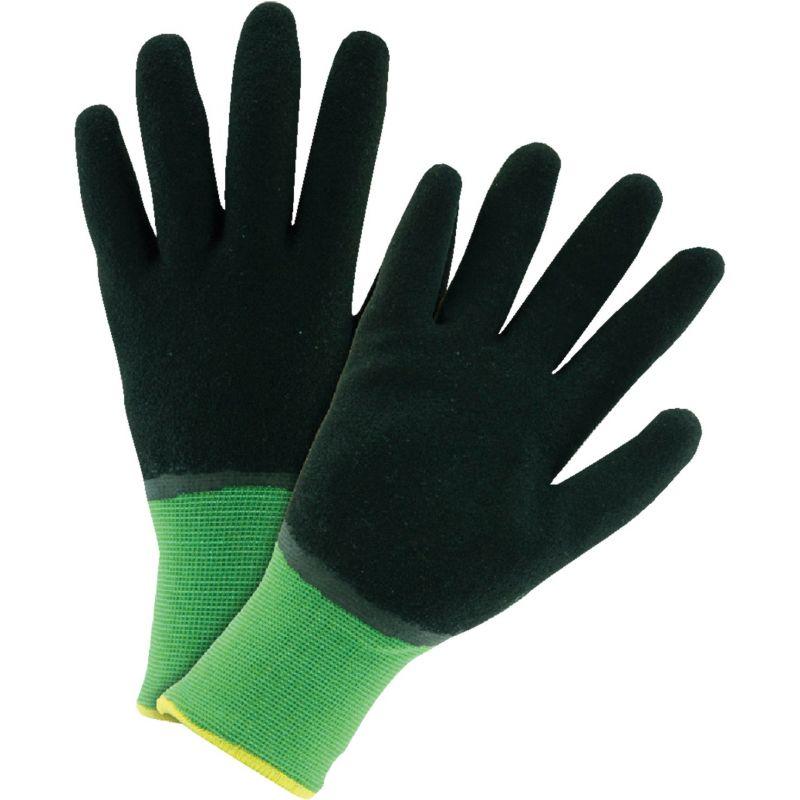 West Chester John Deere Latex Winter Glove XL, Green & Gray