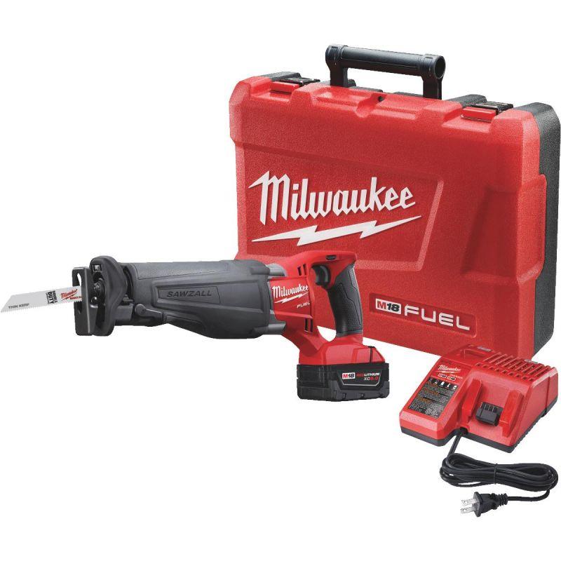 Milwaukee Sawzall M18 FUEL Lithium-Ion Brushless Cordless Reciprocating Saw Kit