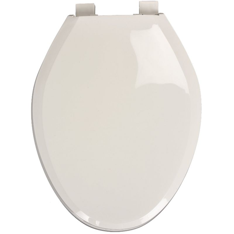 Mansfield Deluxe Toilet Seat White, Elongated