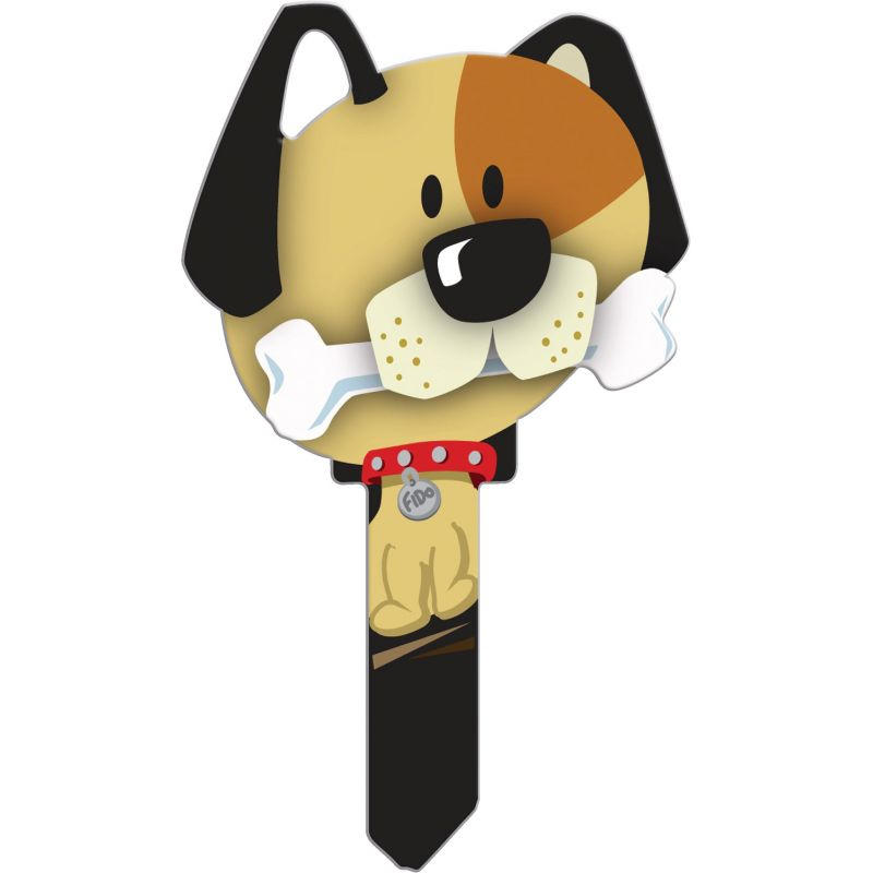 Lucky Line Key Shapes Decorative House Key (Pack of 5)