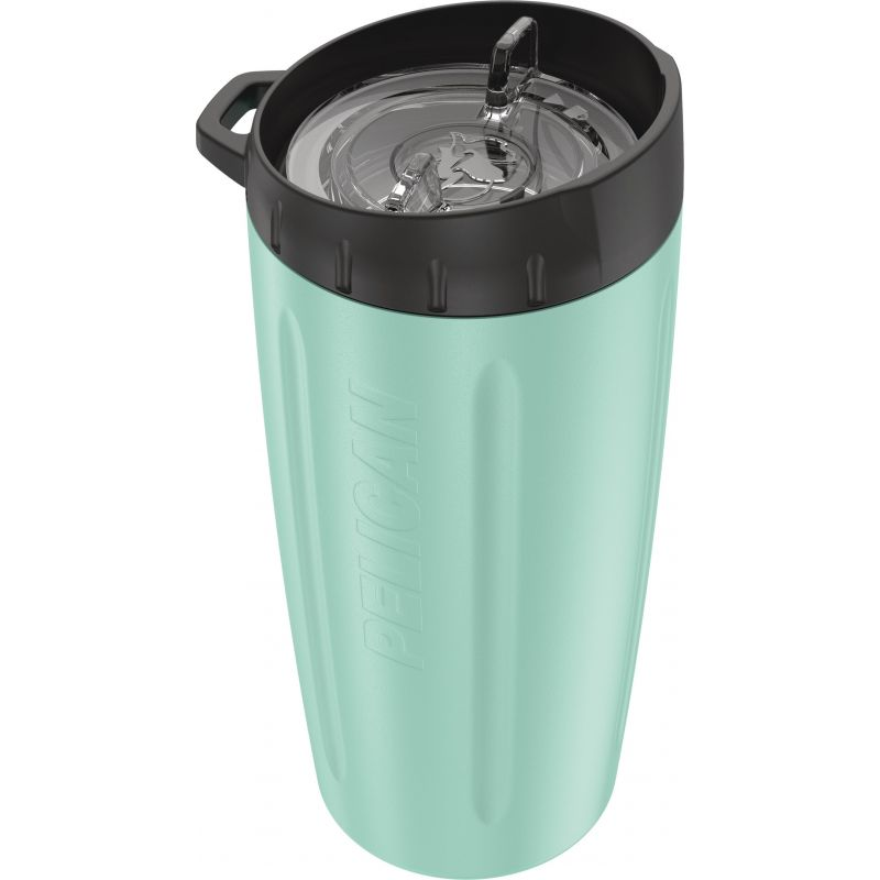 Pelican Stainless Steel Insulated Tumbler 16 Oz., Seafoam