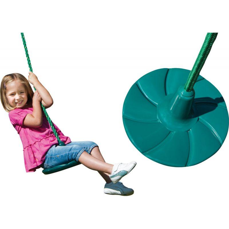 Swing N Slide Shooting Star Disc Swing Green