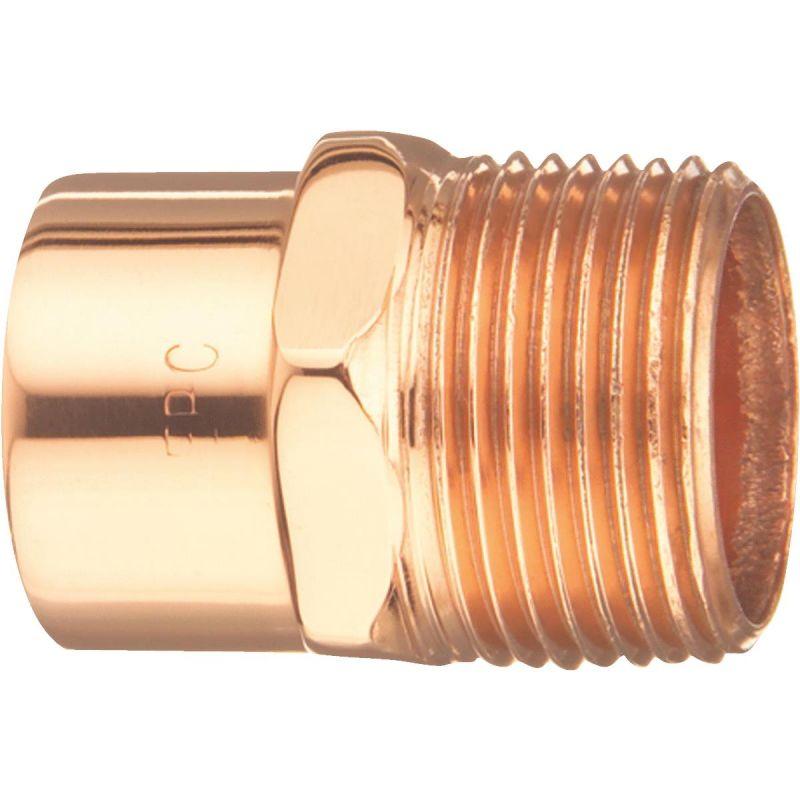 Elkhart Male Copper Adapter 2 In.