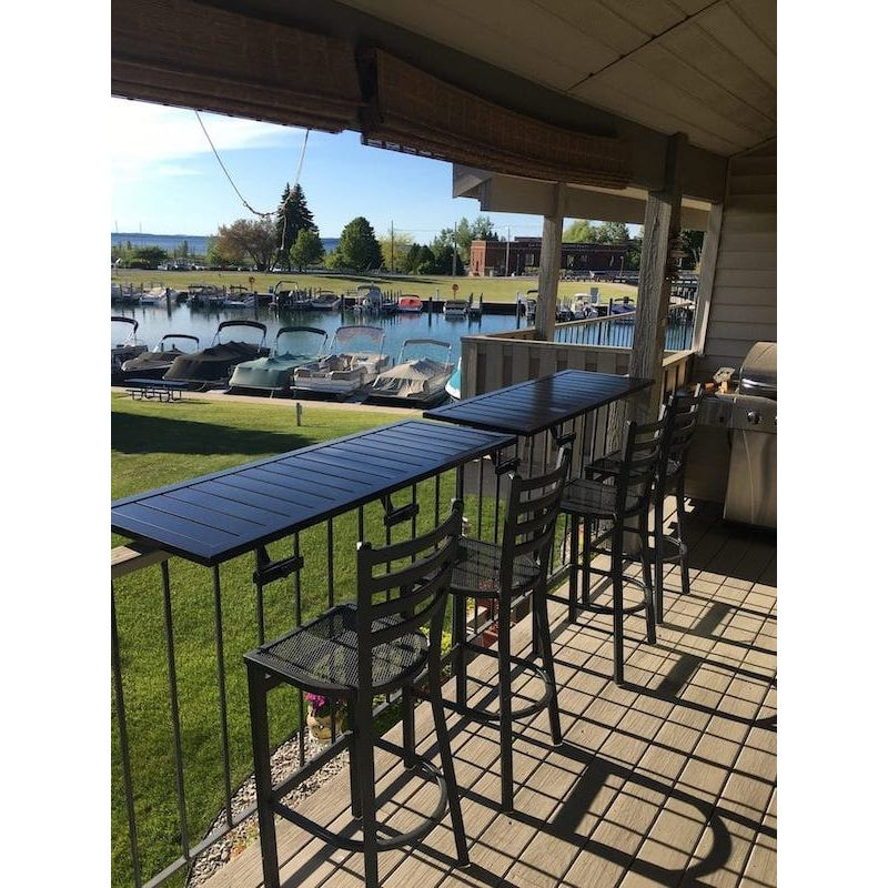 Love Your Deck Railing Table Hardware Kit Black - Limited Quantities