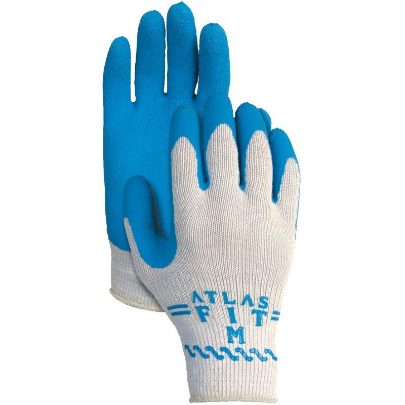 Showa Atlas Rubber Coated Glove XL, Gray & Blue