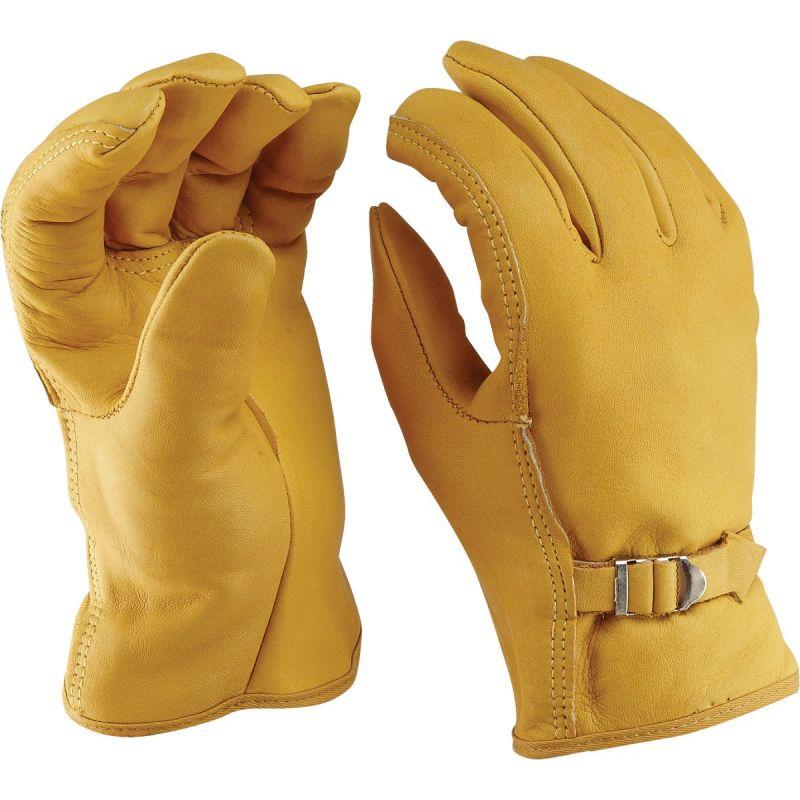 Do it Best Leather Driver Glove L, Tan