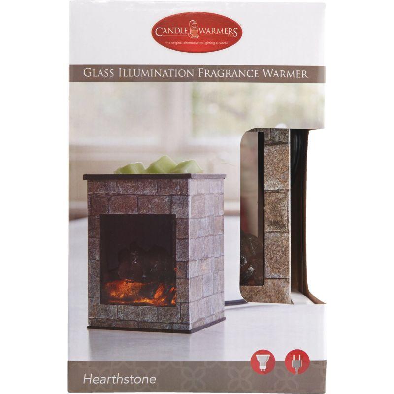Candle Warmers Illumination Fragrance Warmer Brown