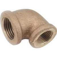 90 degrees Red Brass Elbow