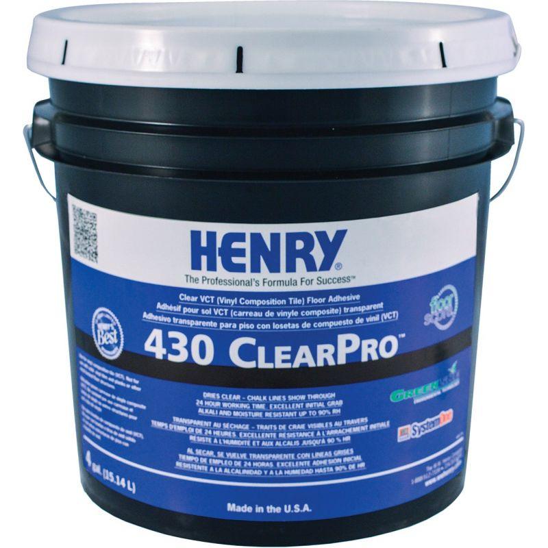 Henry 430 ClearPro Vinyl Floor Adhesive 4 Gal.