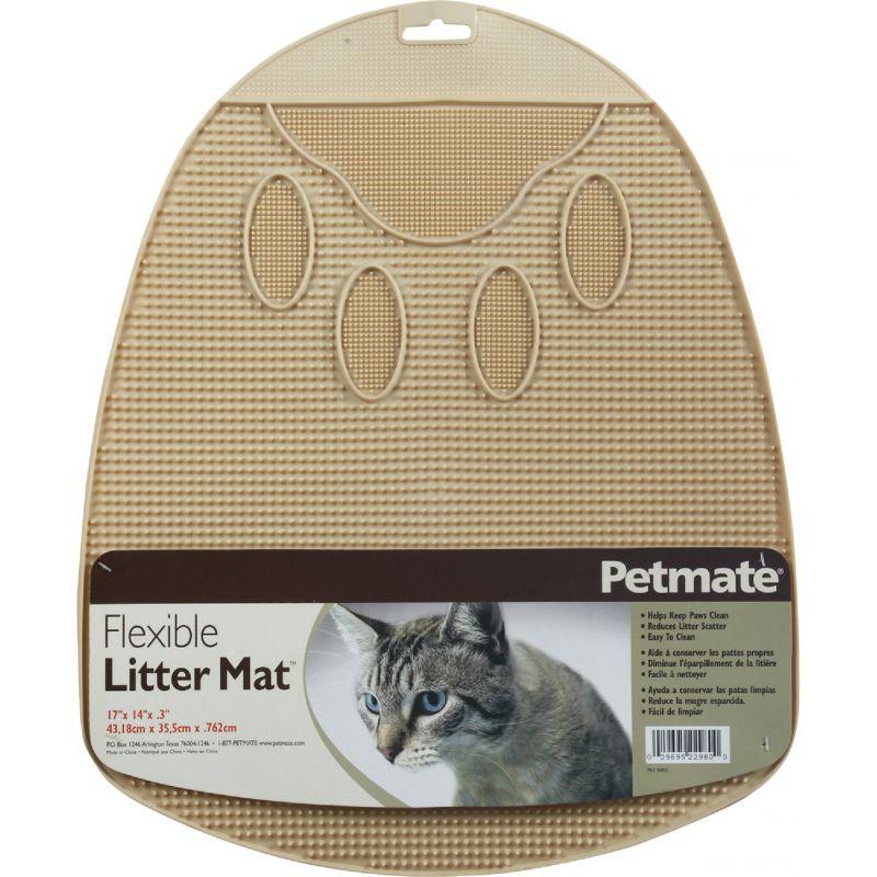 Petmate Litter Mat Assorted