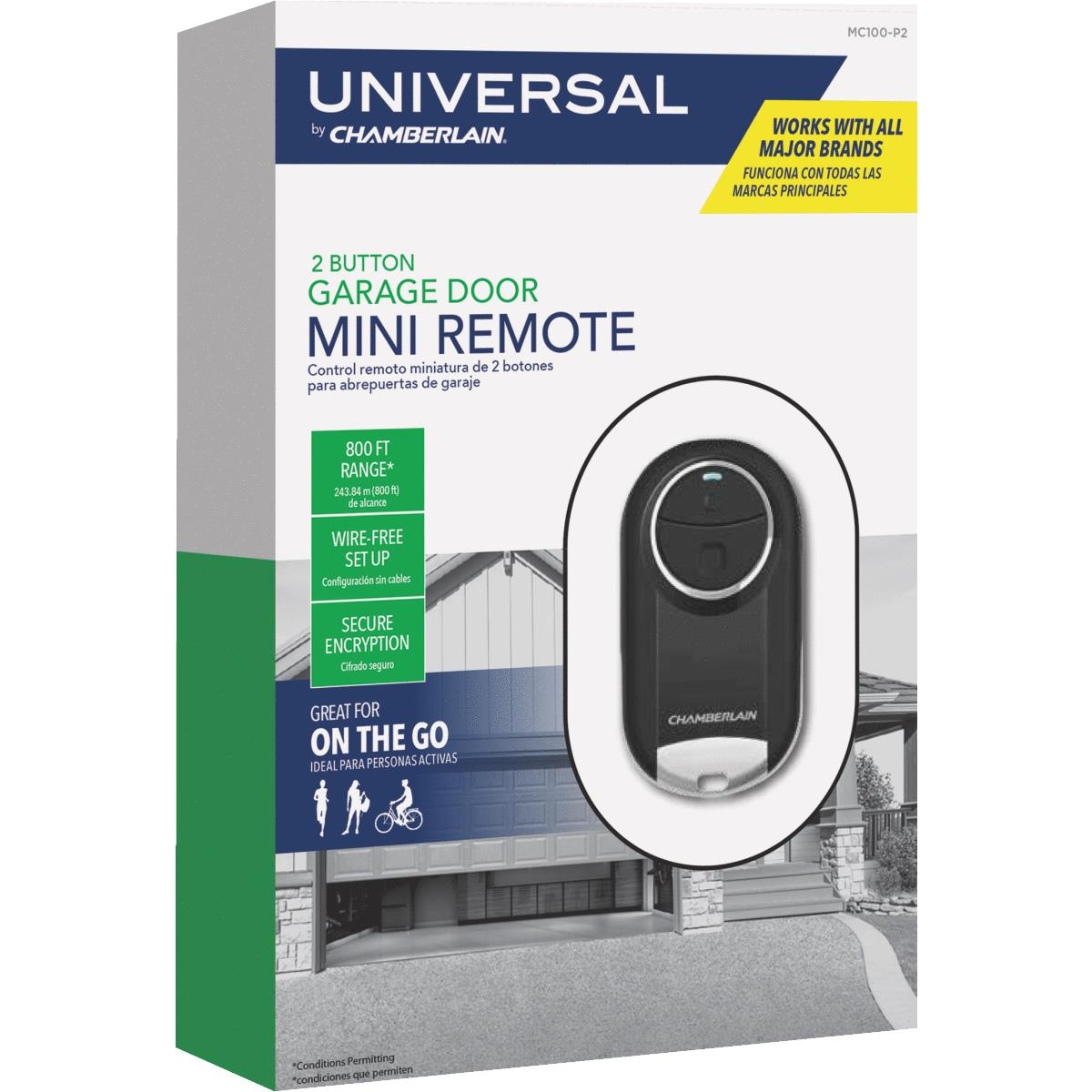 Buy Chamberlain Universal Mini Garage Door Remote Opener Wiring Also Moore O Matic