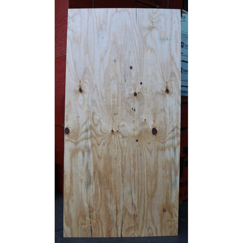"3/8"" x 4' x 8' Yellow Pine CDX Plywood"