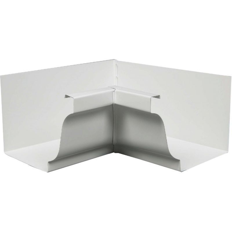 Amerimax Galvanized Inside Mitre White