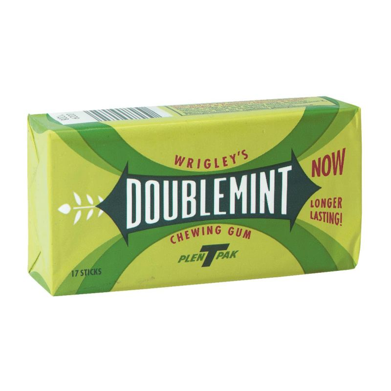 Wrigley's Doublemint Gum 17 Pc. (Pack of 10)