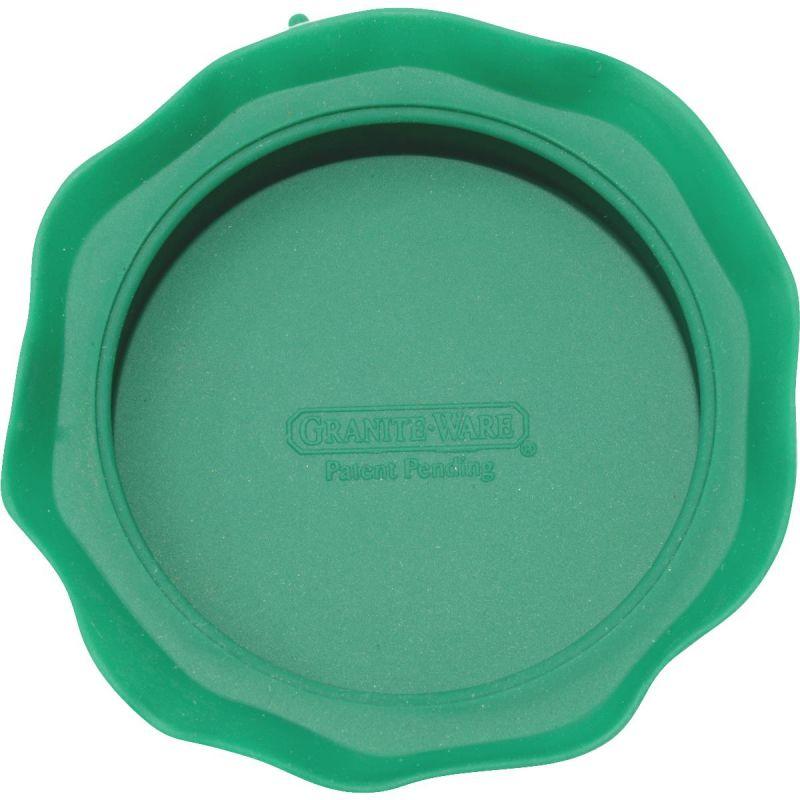 GraniteWare Jar Topper Reusable Storage Cap Standard, Green