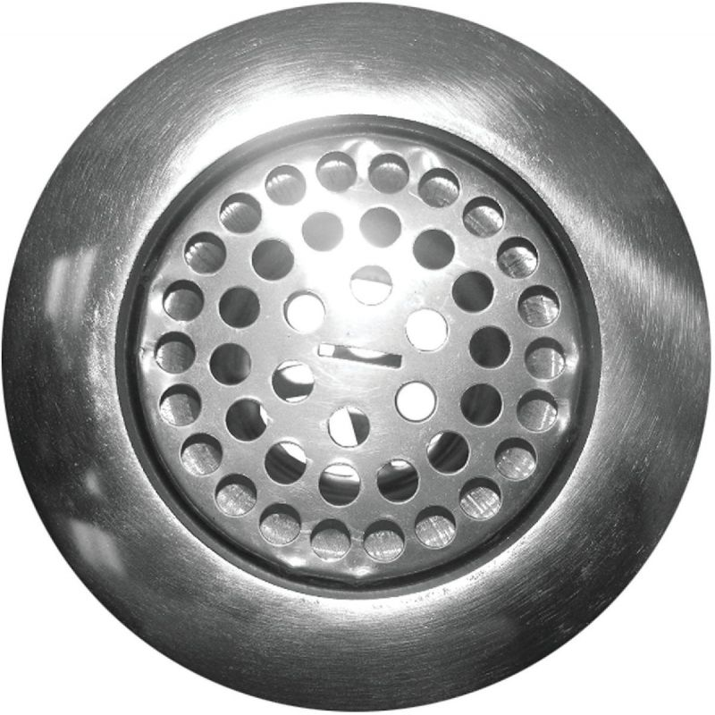 "Lasco 4"" Flat Top Strainer Assembly"