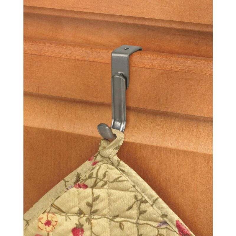 """Over The Cabinet Single Hook 2-3/4"""" H X 1/2"""" W X 2-1/8"""" D"""